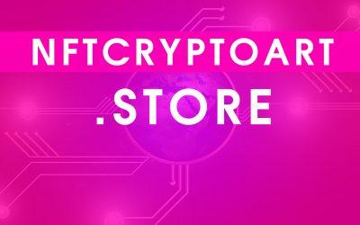 NFT Cryptoart Domain names for Sale